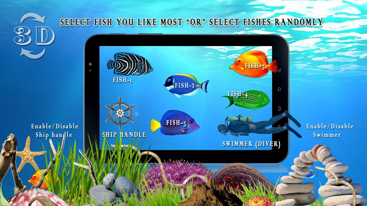 Freshwater aquarium fish compatibility chart - Ocean Fish Live Wallpaper Hd Screenshot