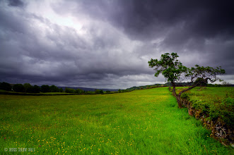 Photo: The lake District in the UK, I watched as the storm clouds gathered pace.