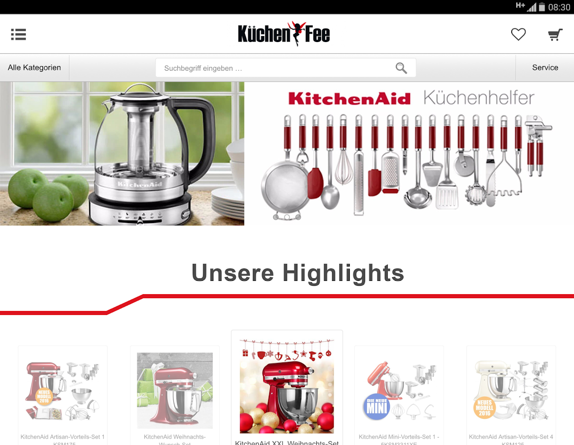 Küchen Fee line Shop Android Apps on Google Play