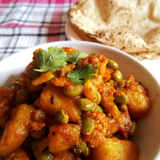 Cauliflower Potato Curry – Indian Recipe