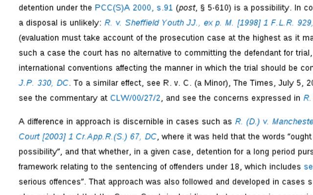 Criminal Law Week