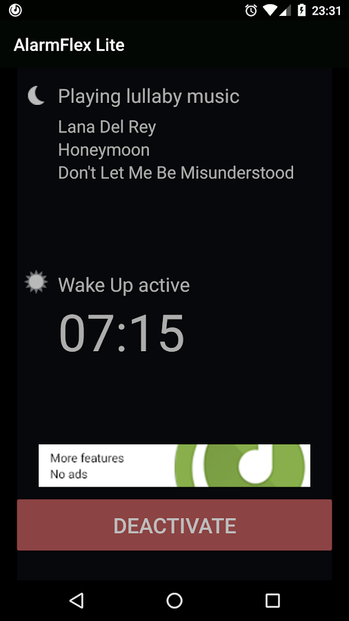 AlarmFlex Lite - Music Alarm- screenshot