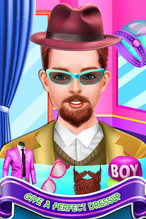 Swell Crazy Beard Salon Girls Games Android Apps On Google Play Hairstyle Inspiration Daily Dogsangcom