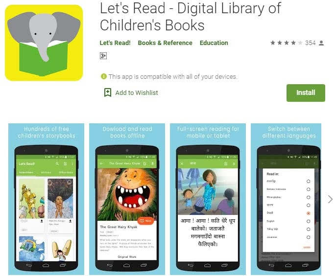 Let's Read - Digital Library of Children's Books