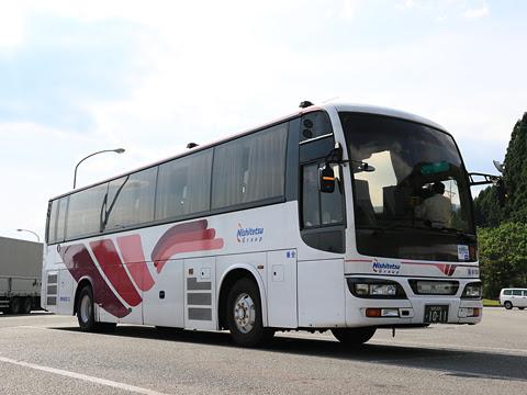 西鉄高速バス「桜島号」 9134 えびのPAにて その1