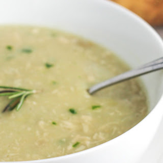Chicken Potato Spinach Soup