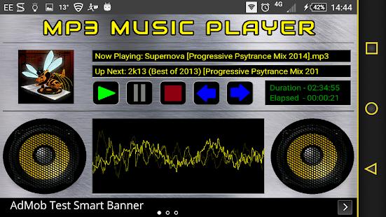 MeloSounds MP3 Player - náhled