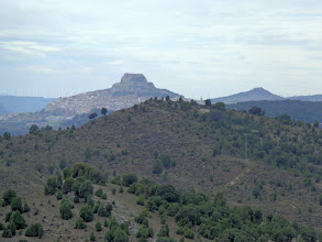 Photo: Morella, from 10km away
