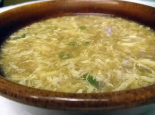 """Chinese Egg Drop Soup """"That familiar restaurant flavor, but packed with homemade..."""