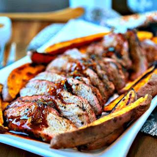 Chili-Orange Glazed Pork Tenderloin.