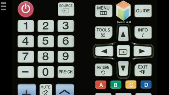 TV Remote Control for Samsung (IR - infrared) Screenshot