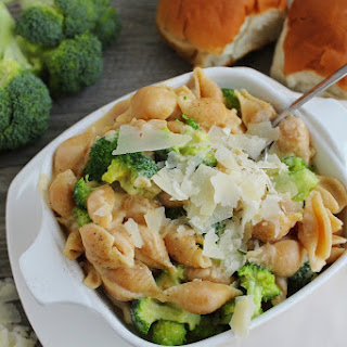 Creamy Broccoli Shells and Cheese
