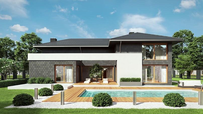 Domy piętrowe przeważają w polskim budownictwie ze względu na zróżnicowane ukształtowanie terenu.