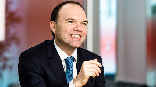 Nick Read, Vodafone Group CEO.