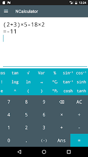 NCalculator apk screenshot 1