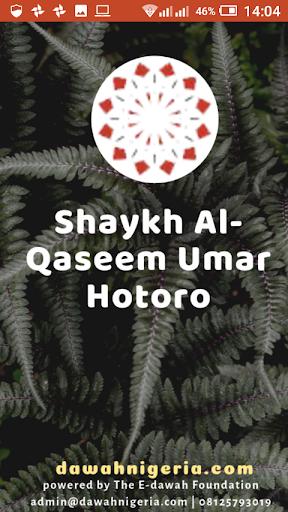 Shaykh Al-Qaseem Umar Hotoro dawahBox screenshot 1