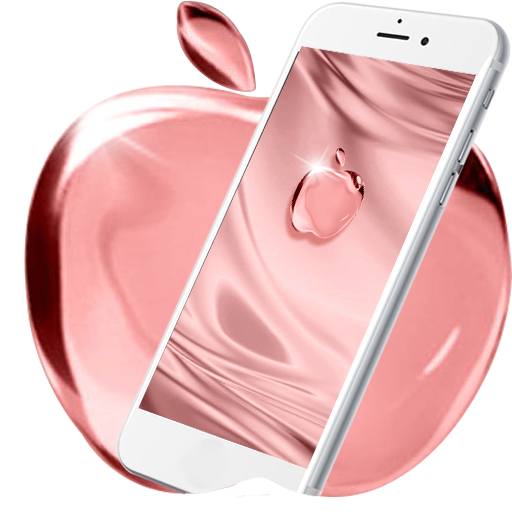 Rouge Apple Bubble Live Wallpaper