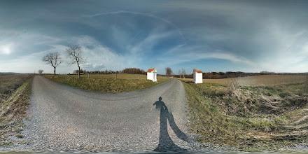Photo: dvě výklenkové kapličky u Dolních Povelic