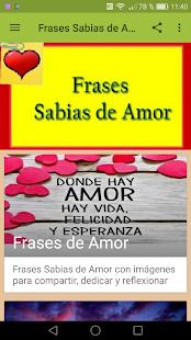 Frases Sabias De Amor Apps On Google Play