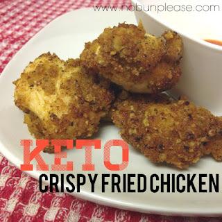 Keto Crispy Fried Chicken