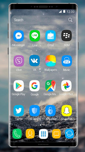 Theme for Samsung Galaxy Note 8 1.1.8 screenshots 2