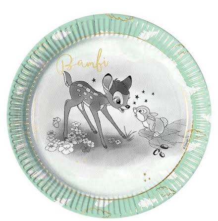 Tallrikar - Bambi