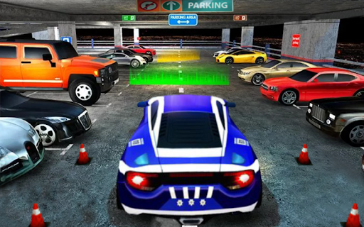 Luxury Car Parking Mania 2020: 3D Free Games apkpoly screenshots 5