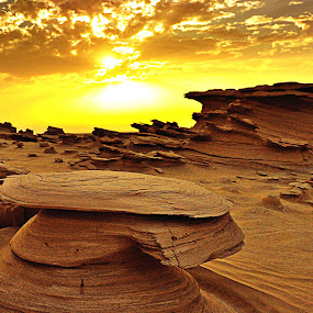 land of sculpted SAND by Jerry Fer Damian - Landscapes Deserts ( desert )