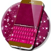 Keyboard Color New Pink