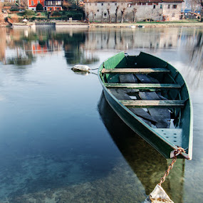 Waiting for better times by Federica Violin - Transportation Boats