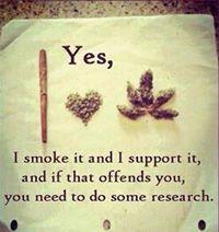 marijuana ethics - yes i smoke it