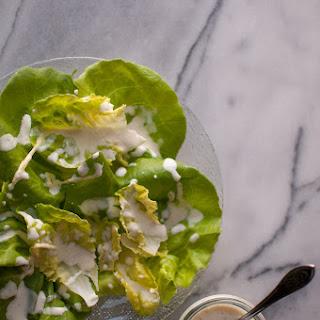 Creamy Lemon Salad Dressing