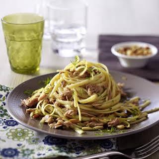 Easy Spaghetti with Tuna.