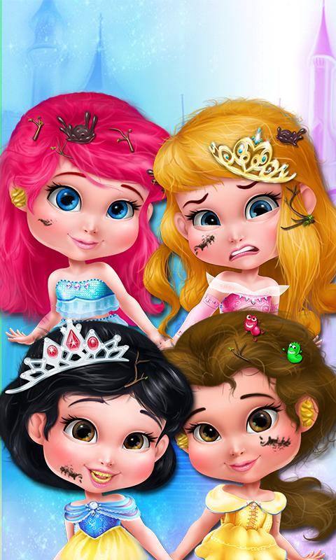 Princess Makeover: Girls Games- screenshot