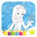 Princess Coloring Game 4 Kids icon
