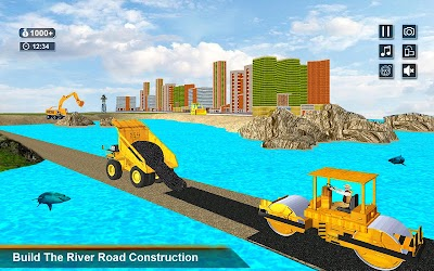 Download New Road Builder City Construction 3D for android