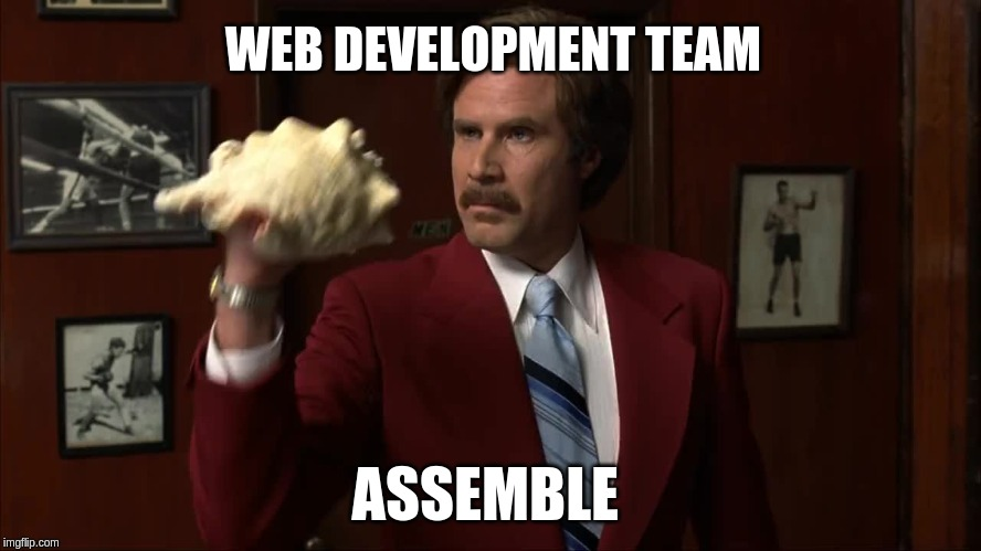 How is a web application developed?