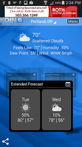 PDX Weather - KOIN Portland OR screenshot 1