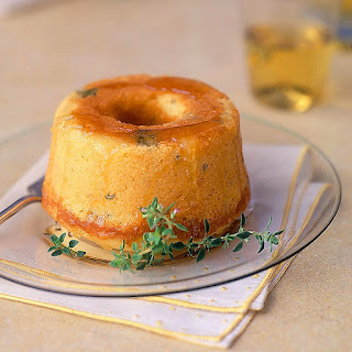 Lemon Thyme Pound Cakes