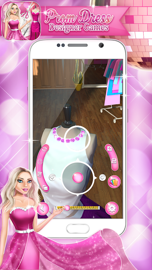 Prom Dress Designer Games 3D - Android Apps on Google Play