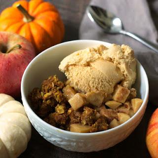 Healthy Pumpkin Apple Crisp Recipe