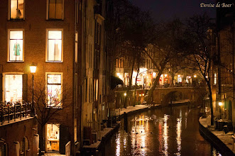 Photo: Utrecht by night. Altijd prachtig..17-01-2013