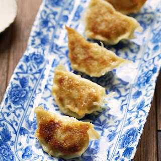 Gyoza With Yuzu Dipping Sauce