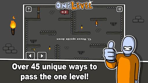 One Level: Stickman Jailbreak 1.1 screenshots 2