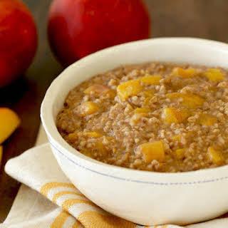 Peaches 'n Dream Oatmeal.