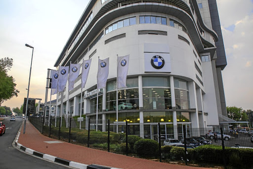 Super Showroom For Bmw In Sandton