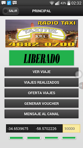 Taxistas Radio Taxi Taxitel  screenshots 3