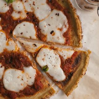 Cauliflower Crust Margarita Pizza Recipe