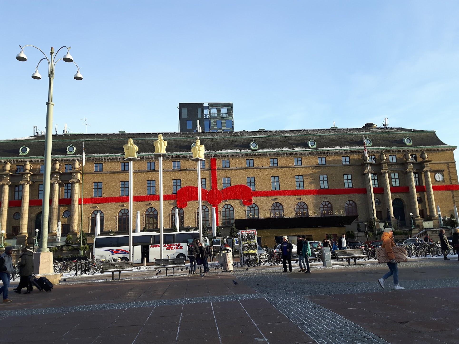 Kerst Clarion Post - Julstaden Göteborg