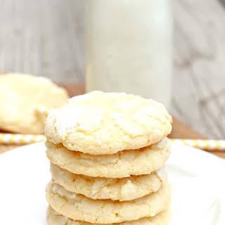 Award Winning Lemon Crinkle Cookies.
